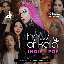 Haus Of Kaila: INDIE+POP