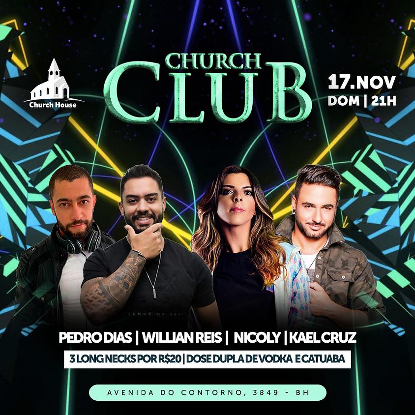 CLUB CHURCH - Domingo 17/11 - 21hs