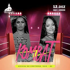 Kombat : Beyoncè vs Rihanna