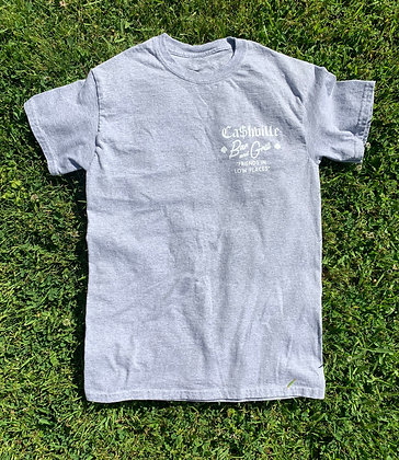 Ca$hville Bar and Grill Tee - Heather Grey