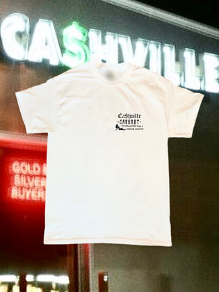 Ca$hville Cabaret Tee - White