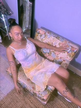 Tie Dye Goddess Slip Dress