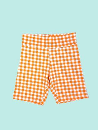 Bike Short - Orange