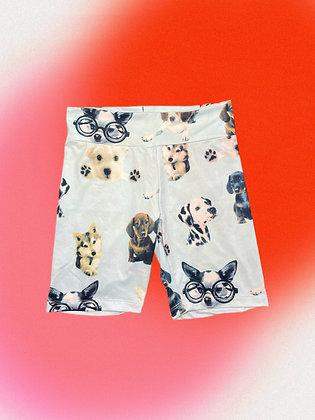 Bike Short - Puppies