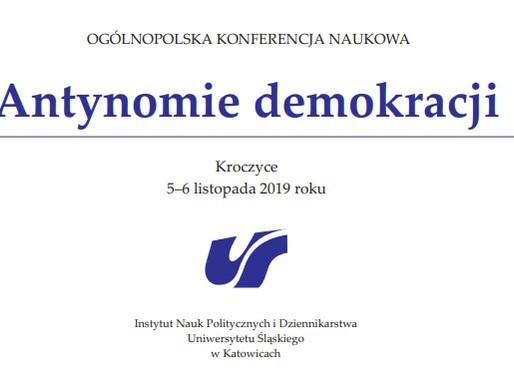 """Konferencja """"Antynomie demokracji"""""""