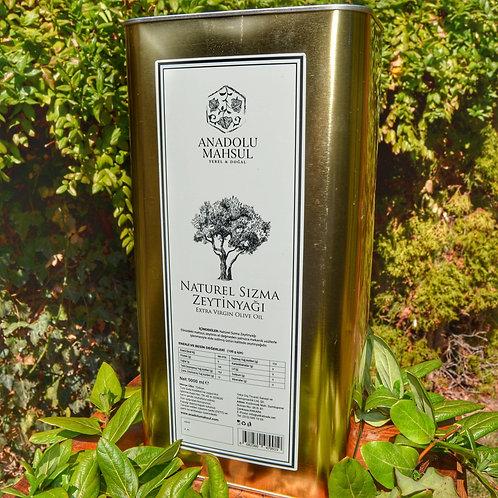 Naturel Sızma Zeytinyağı | 5 lt. Teneke Kutu