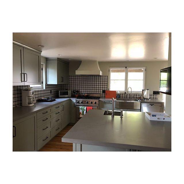 Kitchen remodel in Montecito