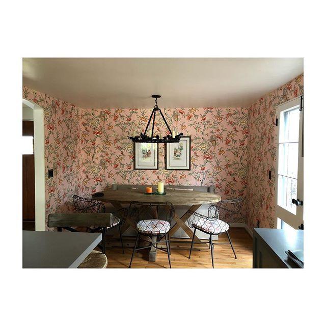 Dining room in Montecito