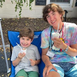 Mr. Sam's Ice Cream is the BEST!