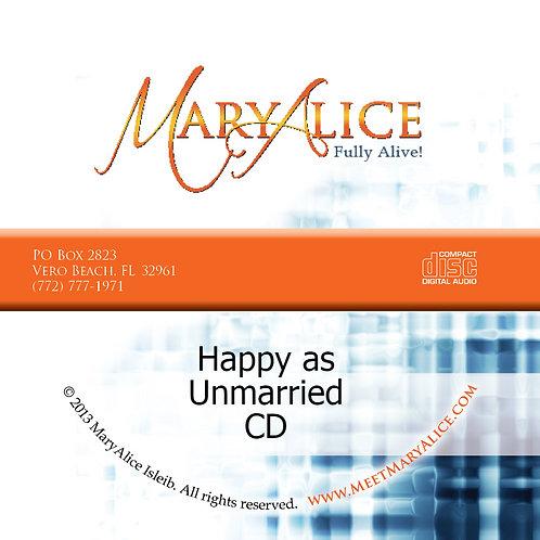 Happy as Unmarried - CD