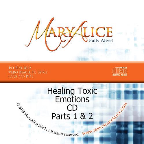Healing Toxic Emotions - CD