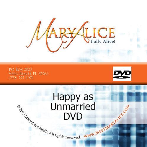 Happy as Unmarried - DVD