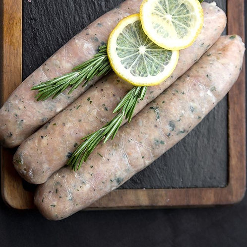 Boudin Blanc (Chicken & Veal)