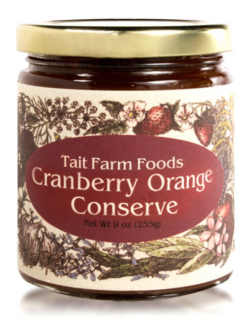 Cranberry Orange Conserve