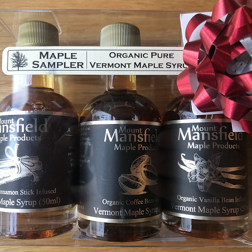 Organic Maple Syrup Sampler