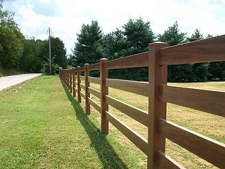 деревянный забор ранчо