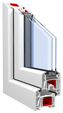 """Окна """"Стандарт""""    Окна высокого качества, идеальны для установки в жилых помещениях, частных домах и учреждениях, предъявляющих повышенные требования к звуко- и теплоизоляции.  При производстве используются профили известных марок KBE, REHAU, VEKA и фурнитура повышенной надежности ROTO и MACO."""