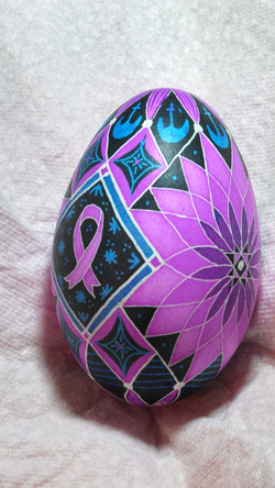 Handmade Batik Goose Egg