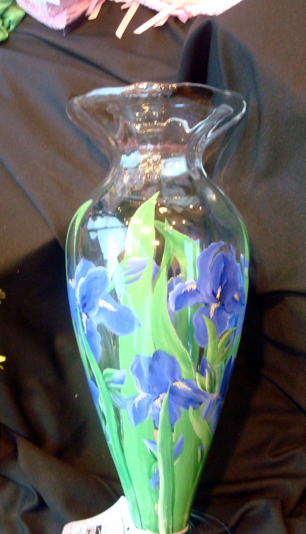 Glass Floral Vase