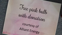 Alliant-Pink Bulb Donation