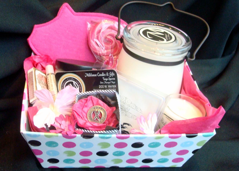 Assorted Candle Basket