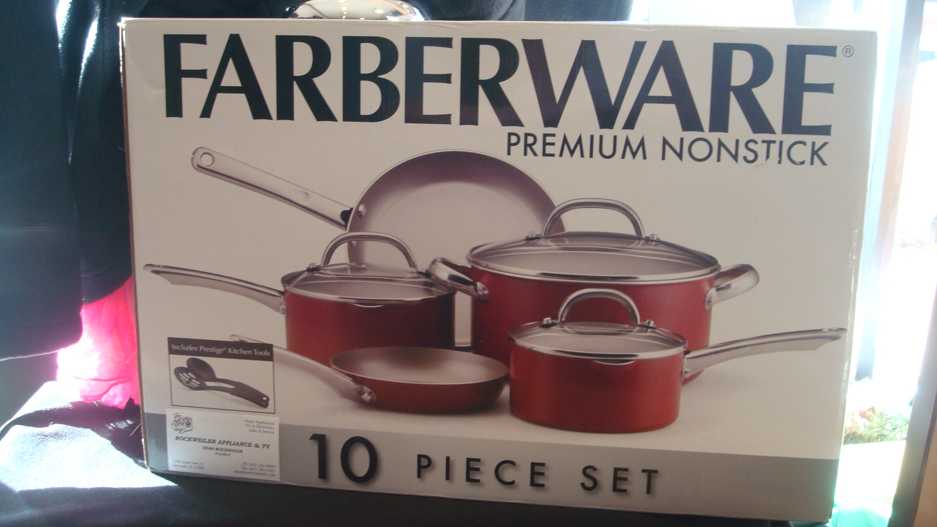 10 piece Cooking Set