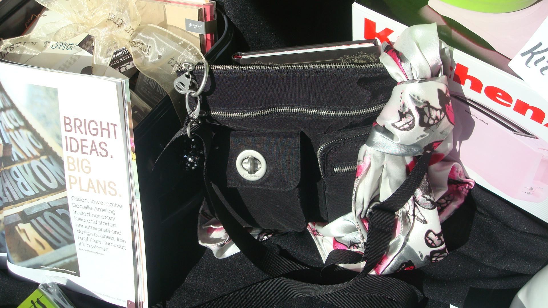 Purse. Scarf, Bracelet and Journal