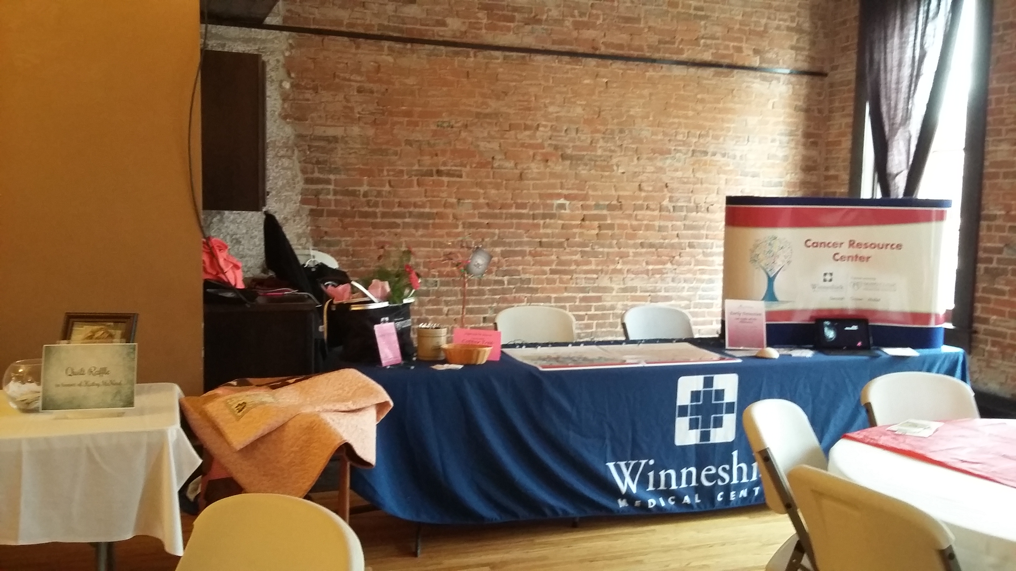 Winneshiek Med Center table