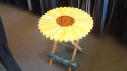 Folding Sunflower Table
