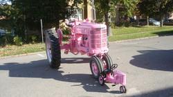 Pink Tractors