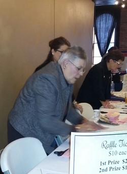 Prize Table Volunteers