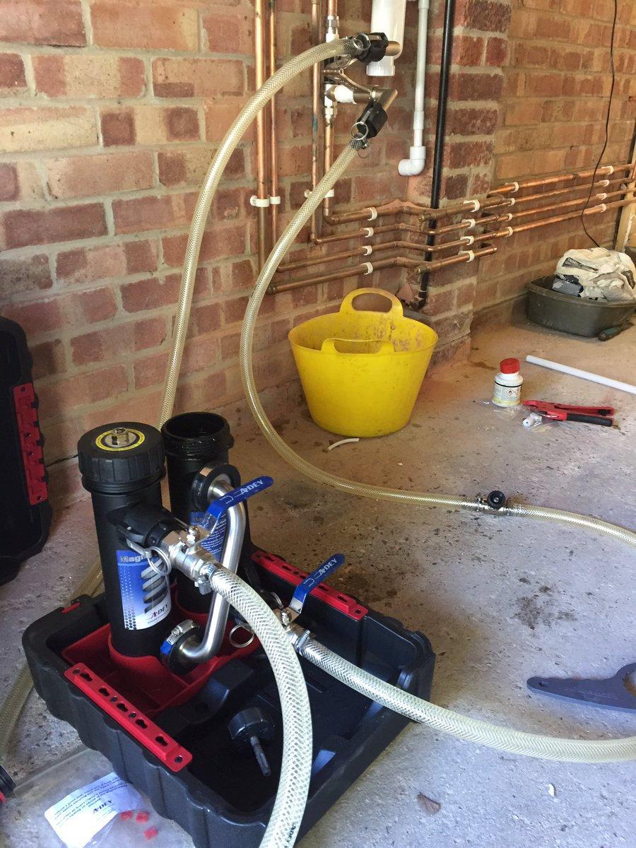Central Heating System Flush