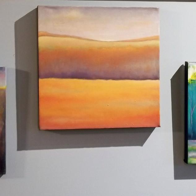 3 un named original paintings