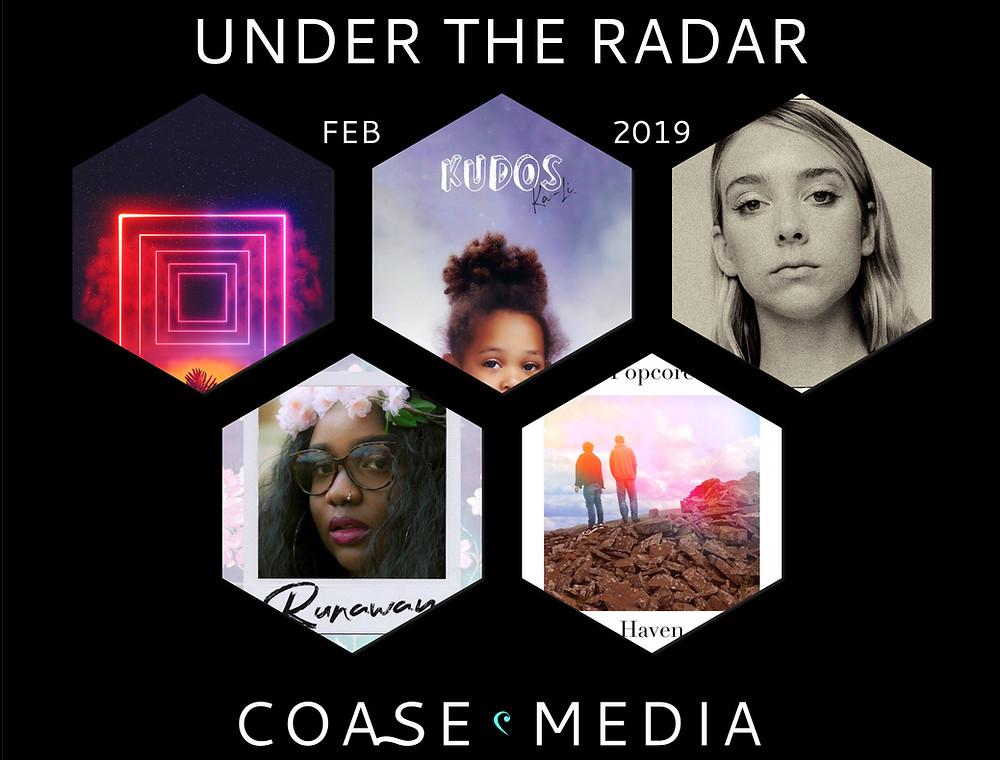 Under The Radar February Album Artwork