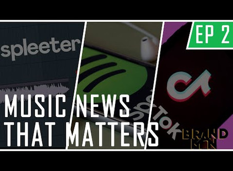 Music News That Matters Ep #2 | California's Music Economy Set To Collapse?