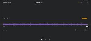 Amper Music Interface Screenshot