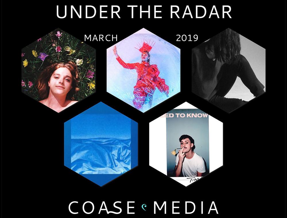 Under The Radar March Album Artwork