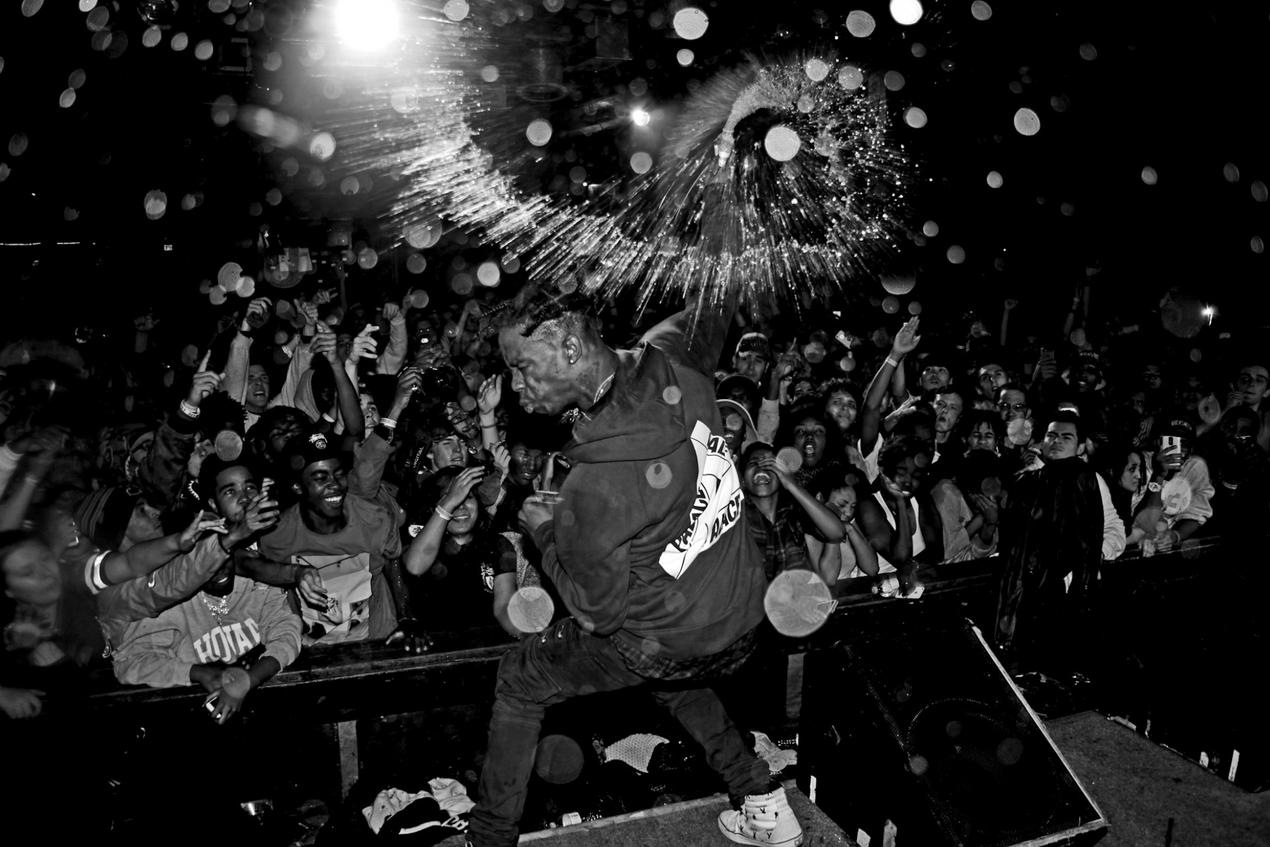 Travis Scott photographed by Mel D. Cole