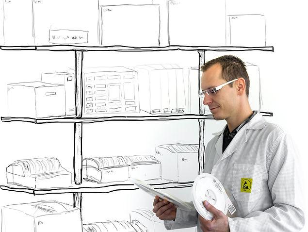 Globale Materialbeschaffung | Supply Chain Management | Obsolescence Management | Traceability | klimatisierte Lagerbedingungen