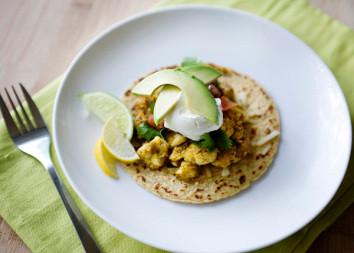 Poblano Fish Tacos