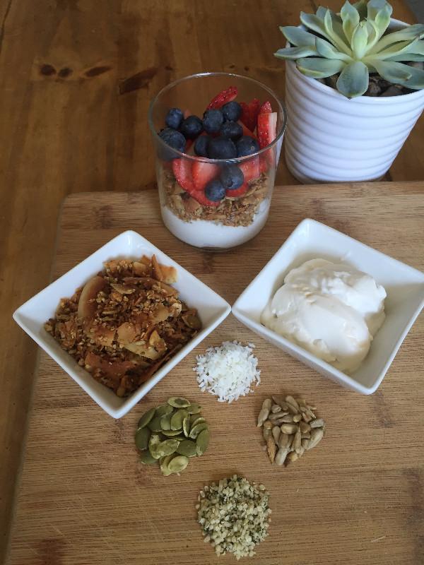 Pumpkin Paleo Nut-Free Granola