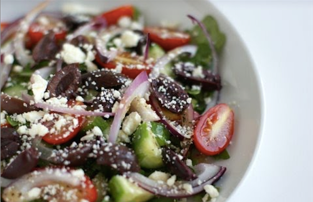 Greek Arugula Salad