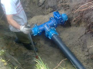 На Косе запустили водовод