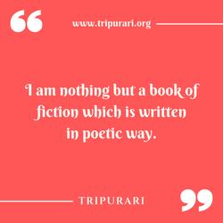 i am nothing by tripurari