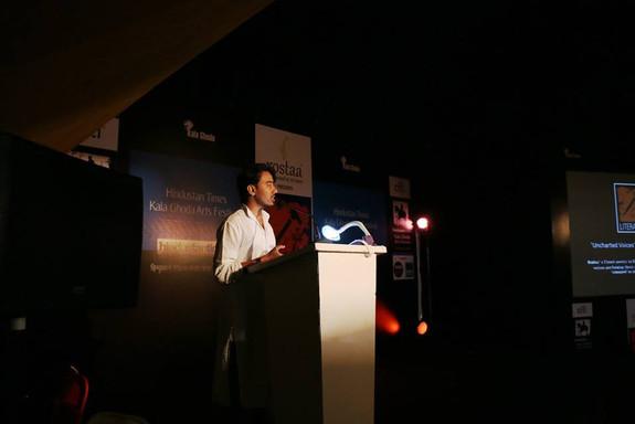 Tripurari at Kala Ghoda Arts Festival, Mumbai