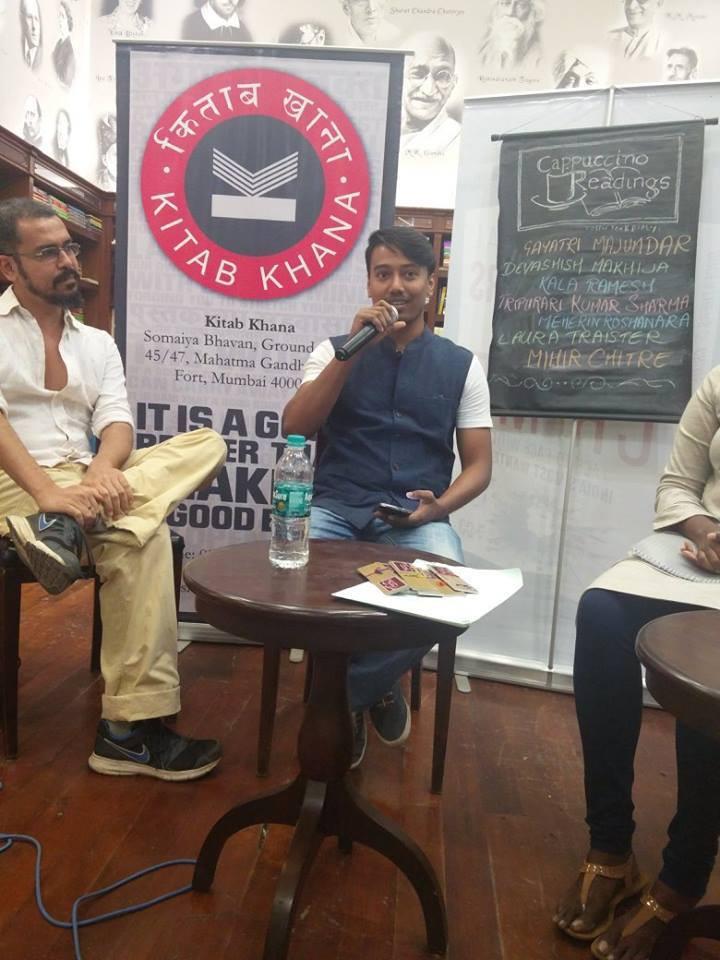 devashish makhija, tripurari, kitabkhana, mumbai