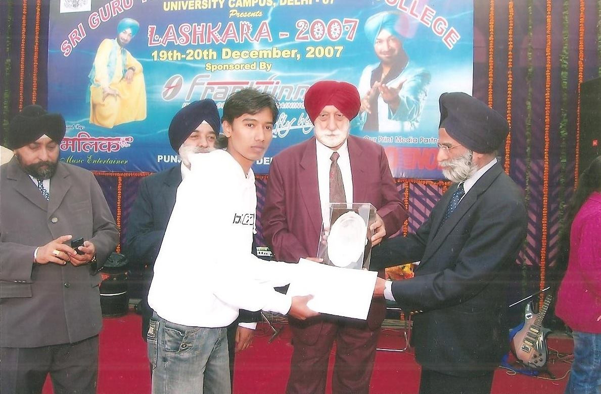 1st prize for poetry