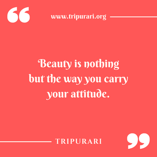 beauty is nothing by tripurari