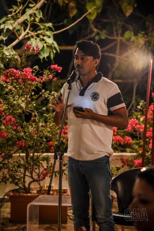 tripurari, poetry,