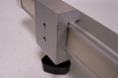 9861F Fairfield-Style Rail Clamp Counterbore